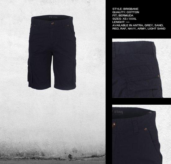 New Star heren korte broek Brisbane zwart - Maat XL
