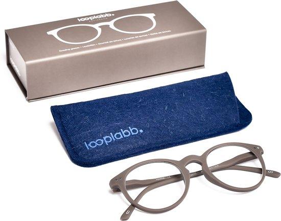 Looplabb. Lolita Leesbril - Grijs - Sterkte: +1.00