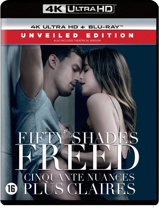 DVD cover van Fifty Shades Freed (4K Ultra HD Blu-ray)