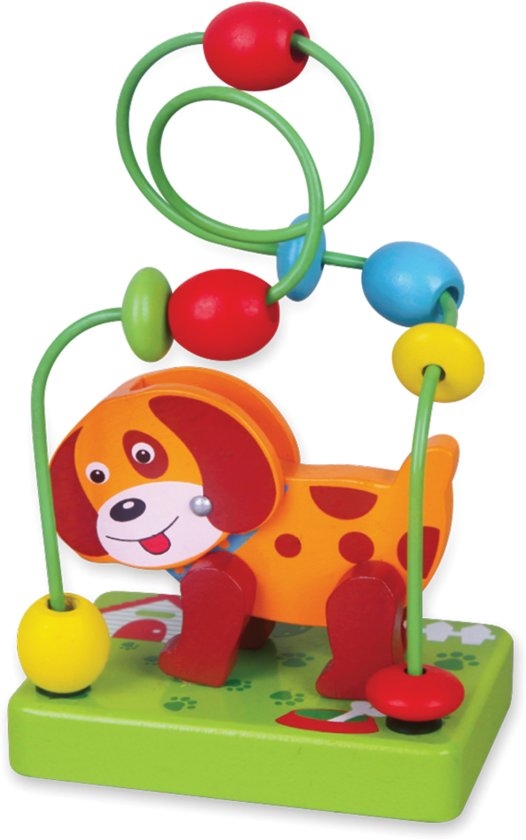 Afbeelding van Viga Toys - Mini Kralenframe - Hond speelgoed