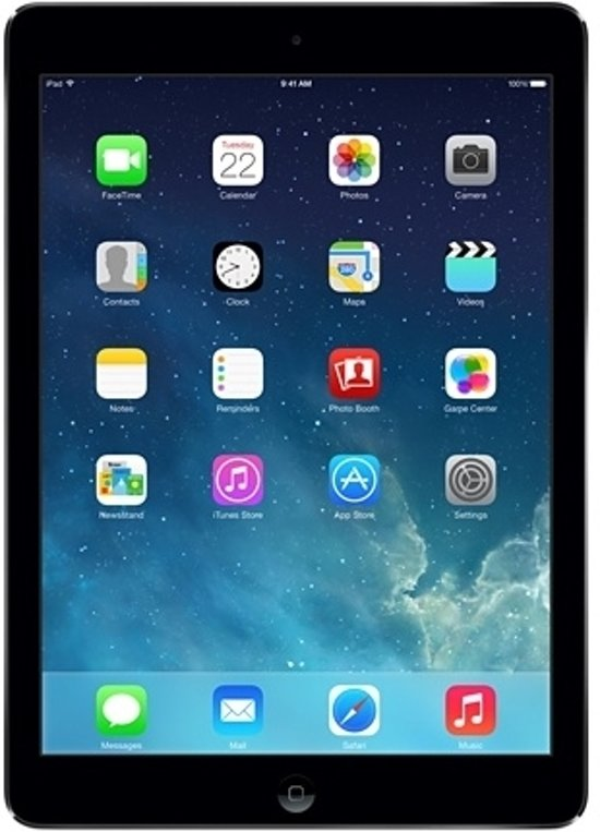 Apple iPad Air - 32GB - WiFi - Spacegrijs - A grade