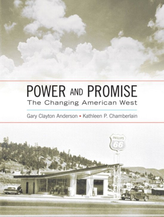 the changing west