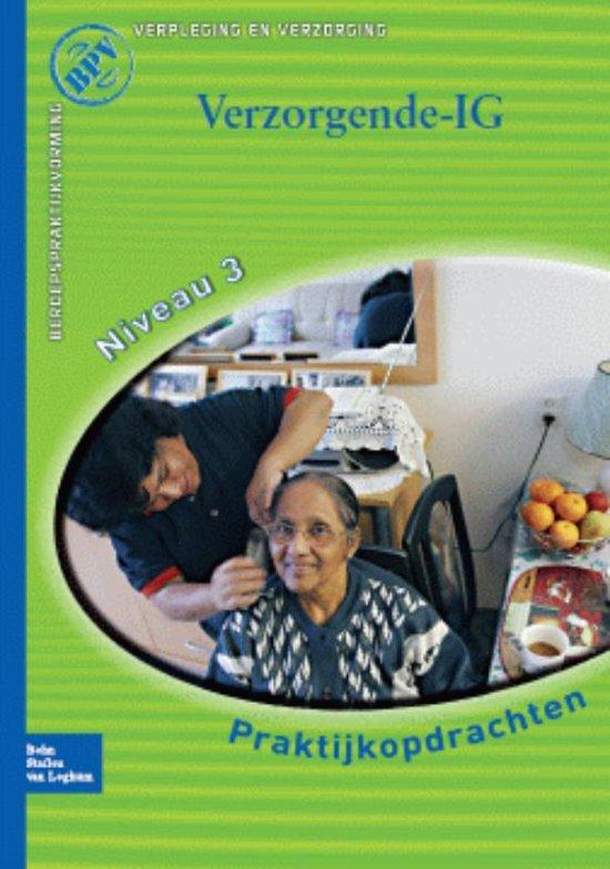 Boek cover Beroepspraktijkvorming Verzorgende-IG / Praktijkopdrachten voor kwalificatieniveau 3 van T Stuut (Paperback)