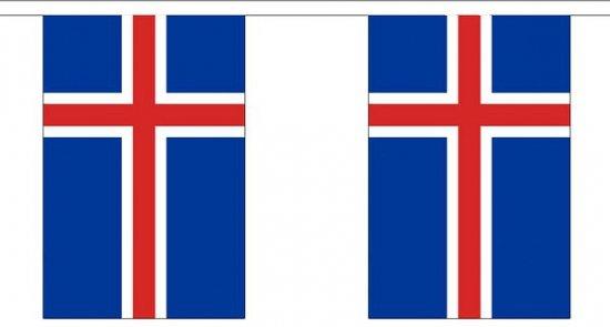 Buiten vlaggenlijn IJsland 3 m