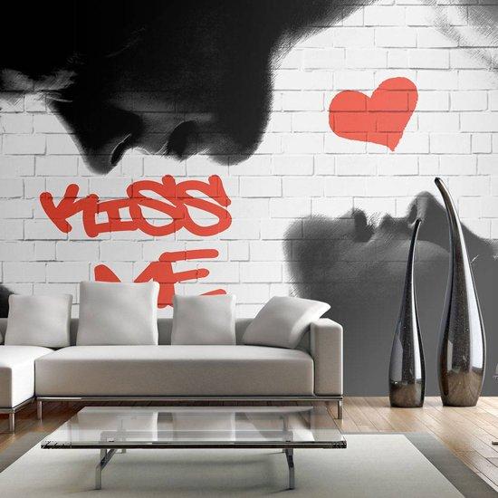Fotobehang - Kiss me