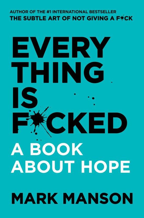 Boek cover Untitled van Mark Manson (Paperback)