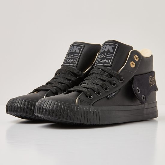 Black Knights British Synthetisch Roco Hoog 42 Sneakers Dames snt wFx1vfwgq