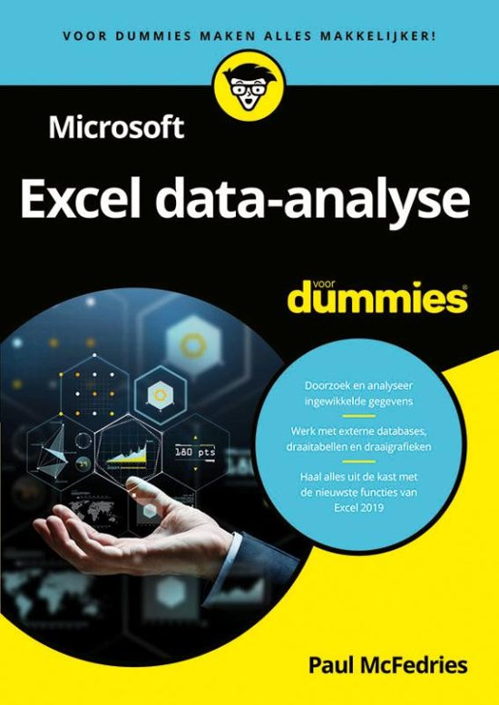 Bolcom Microsoft Excel Data Analyse Voor Dummies Paul