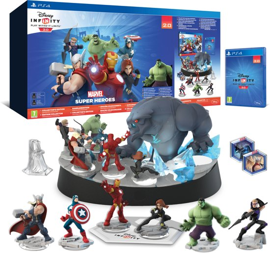 Bol Com Disney Infinity 2 0 Marvel Super Heroes Starter