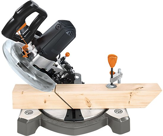 Toolson KS2100 Afkortzaag - Met laser - 1500W - Met stofzak en 24T zaagblad