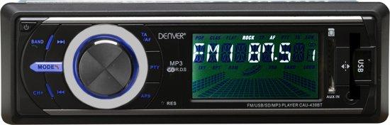 Denver CAU-439BT - Autoradio met Bluetooth en AUX aansluiting - Zwart