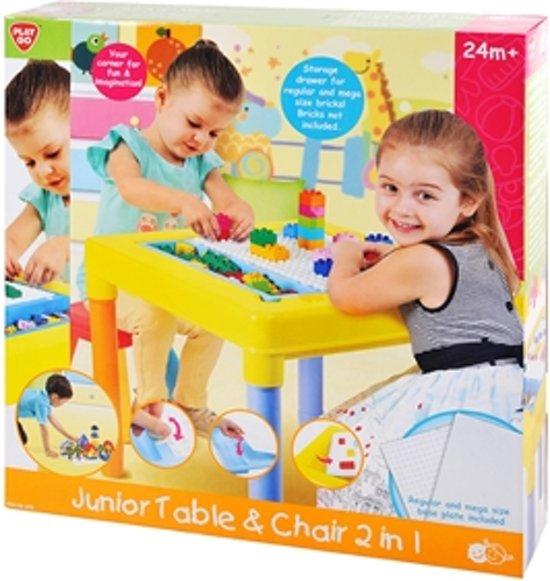 Baby Speeltafel Met Stoel.Playgo Speeltafel Met Stoel