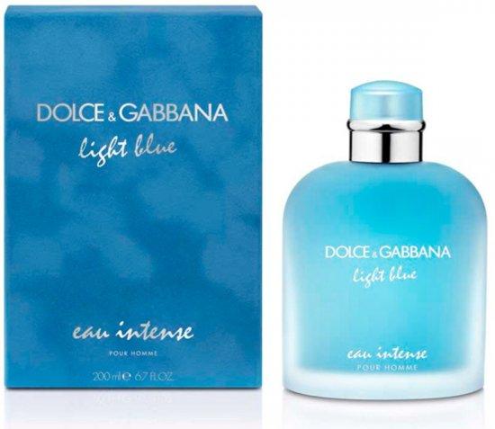 Dolce & Gabbana Dolce & Gabbana - Eau de parfum - Light blue intense pour homme - 200 ml