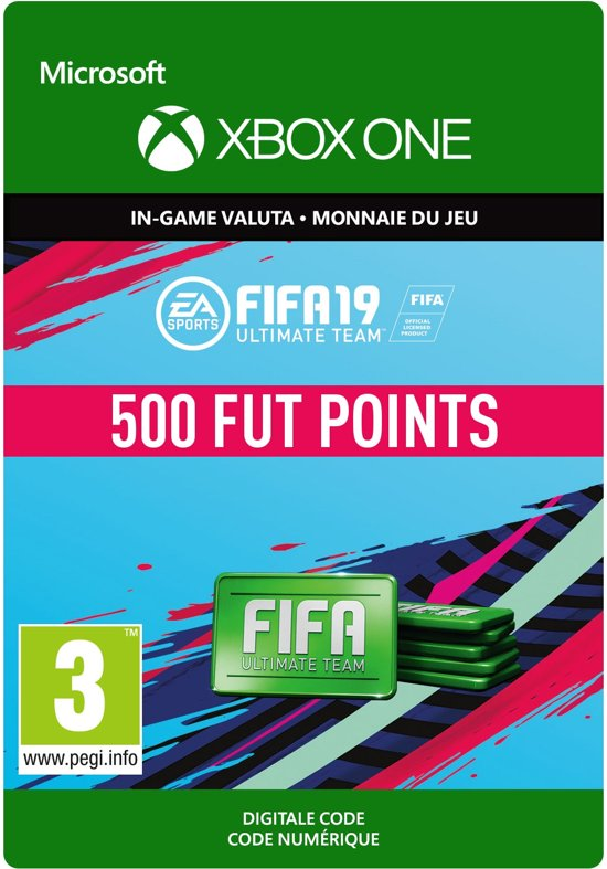FIFA 19: Ultimate Team -  500 Points - Xbox One