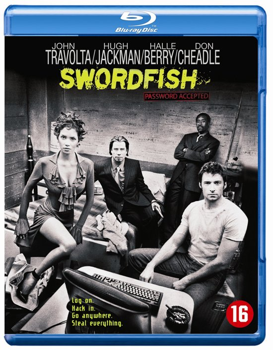 DVD cover van Swordfish (Blu-ray)