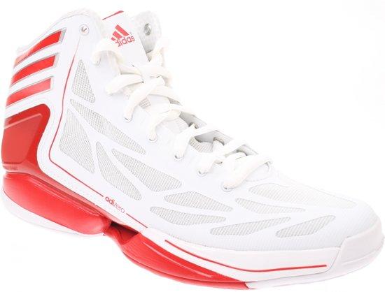 big sale 9acf4 4857a Adidas Adizero Crazy Light Basketbalschoen Wit Rood Mt 52 23
