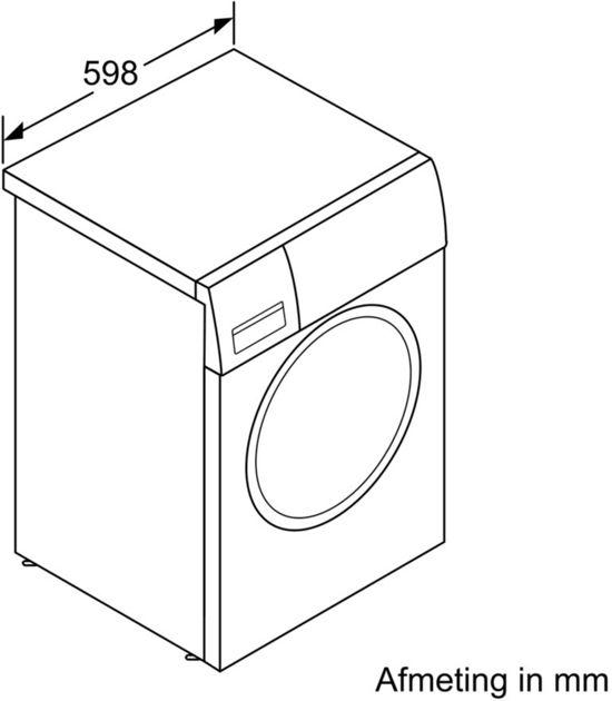 Bosch WAT28655NL - Serie 6 - i-DOS - Wasmachine