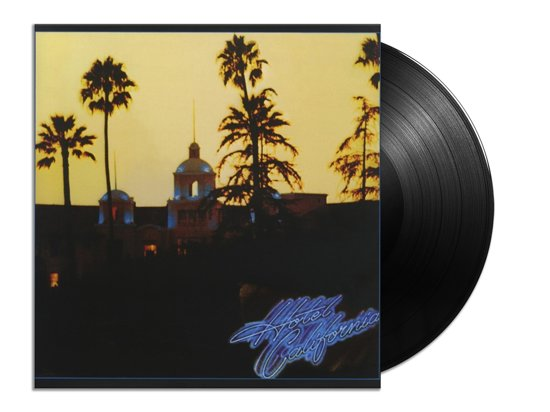 CD cover van Hotel California (LP) van Eagles