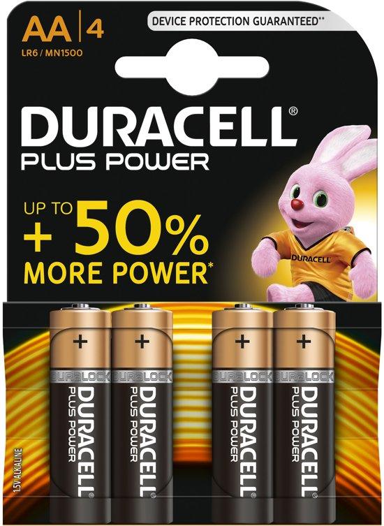 Duracell AA Plus Power - 4 stuks