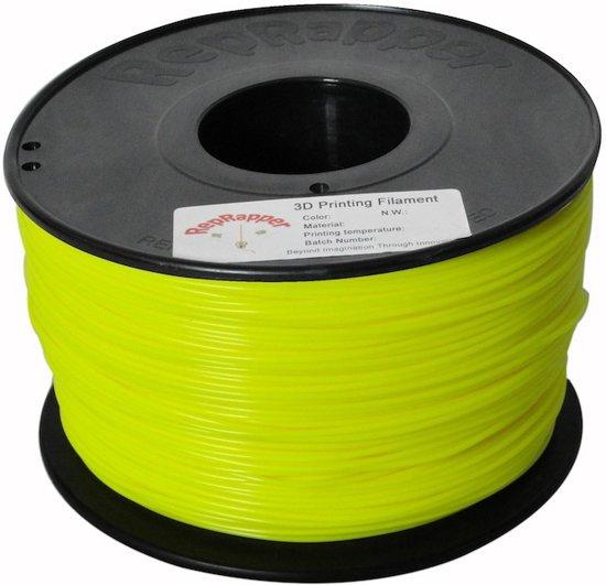 1.75mm geel ABS filament