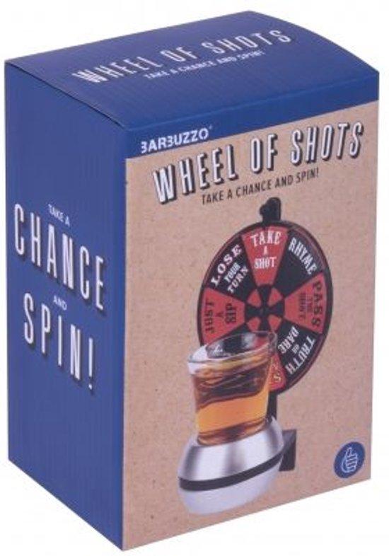 Thumbnail van een extra afbeelding van het spel 2-delige Wheel Of Shots Drinking GameThumbsUp!