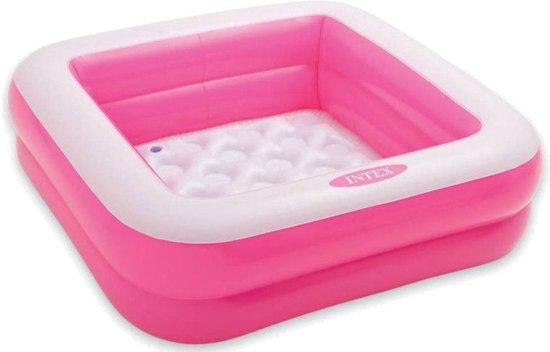 Intex Opblaaszwembad Roze 85 X 85 X 23 Cm
