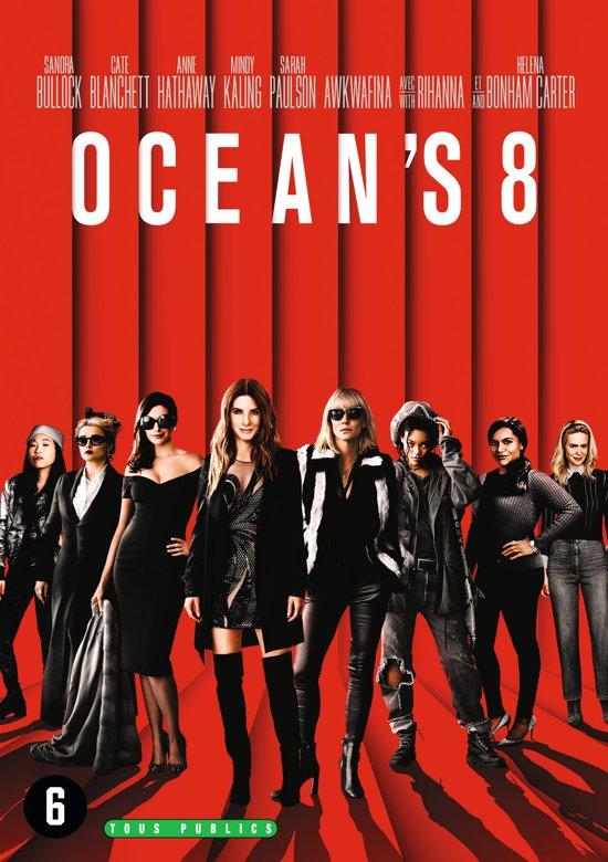 DVD cover van Oceans 8