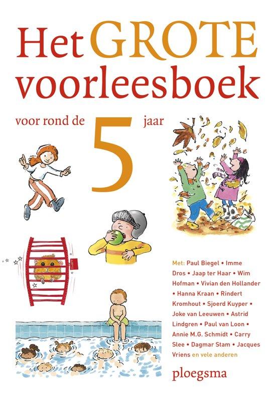 Boek cover Het grote voorleesboek voor rond de vijf jaar van  (Hardcover)