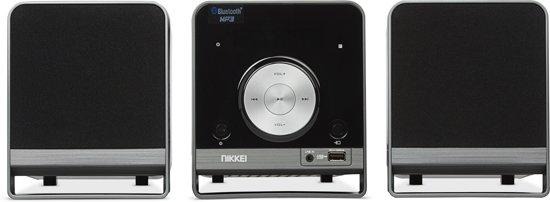 Nikkei NMC310 Microset met Bluetooth, radio, MP3, CD-speler en USB-poort