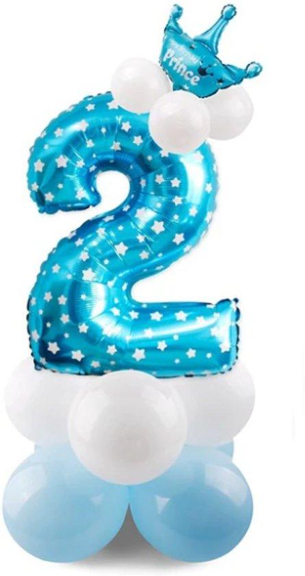 Bol Com 2 Jaar Ballonnen Set 2 Jaar Jongen Verjaardag Baby