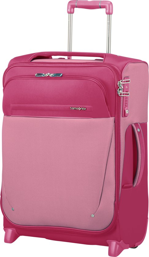 4e88cd6bcc7 bol.com | Samsonite B-Lite Icon Upright Reiskoffer/Handbagage - 55 cm -  Ruby Red