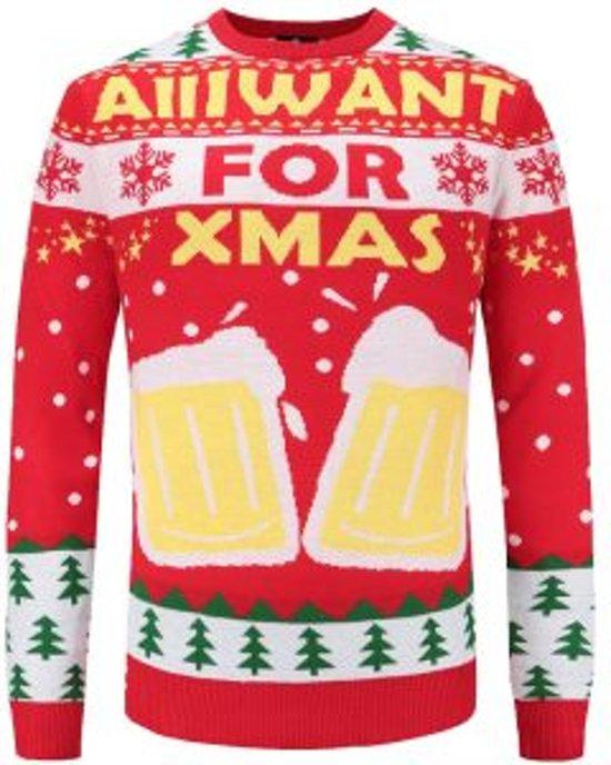 Kersttrui Maat L.Bol Com Kersttrui Voor De Bier Liefhebber Maat L Superfout