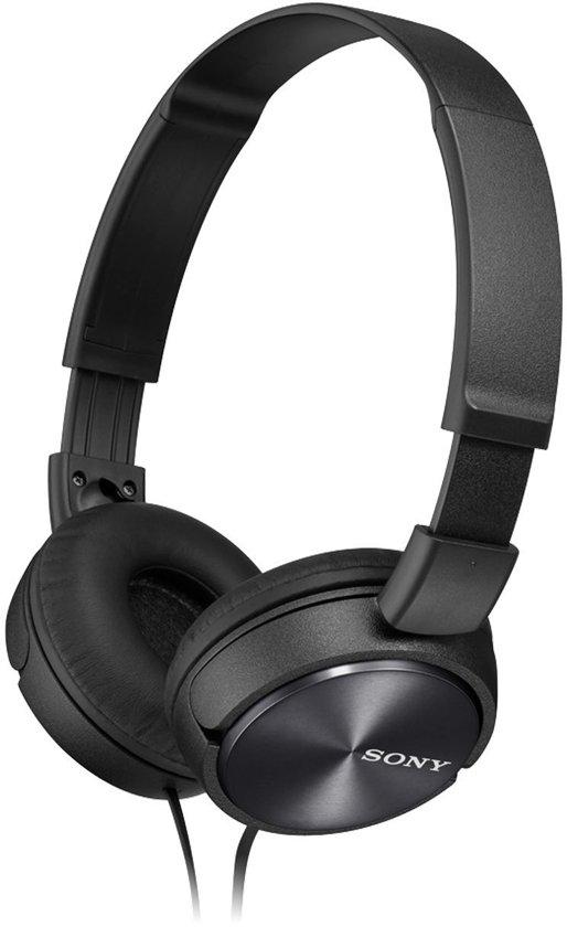 Sony MDR-ZX310 - On-ear koptelefoon - Zwart