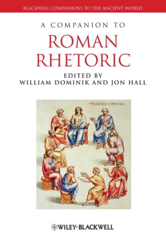 A Companion to Roman Rhetoric