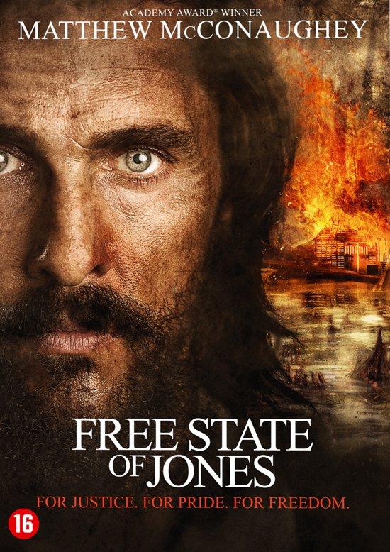 DVD cover van Free State Of Jones