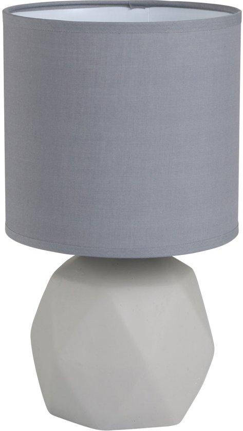 bol reality pike tafellamp zonder lichtbron grijs