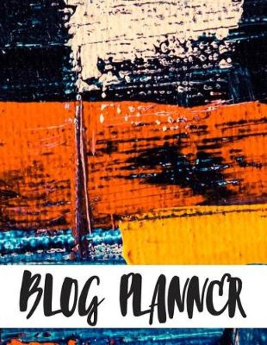 Blog Planner: Social Media Planning and Marketing Notebook, Daily Schedule Organizer Calendar Quarterly for Bloggers and Online Busi
