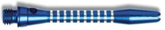 Harrows Tiger shaft short blauw 3 stuks