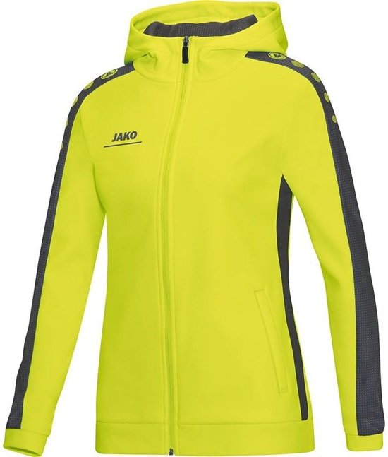 Dames Striker Jacket Women JakoHooded Maat 34 FK1TlJc