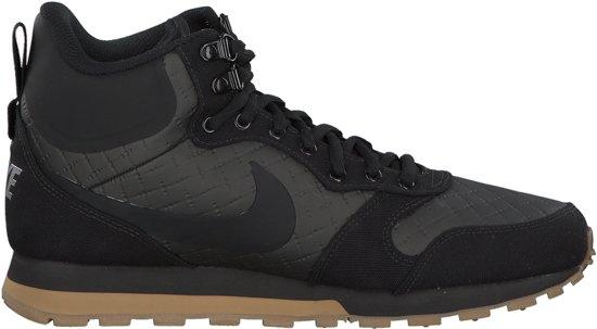Nike MD Runner 2 Mid Sneakers Heren Sneakers - Maat 44 - Mannen - zwart  53fb474789970