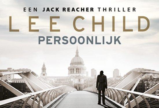 Boekomslag van 'Jack Reacher - Persoonlijk DL'