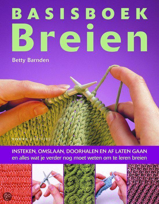 Bolcom Basisboek Breien Betty Barnden 9789058772251 Boeken