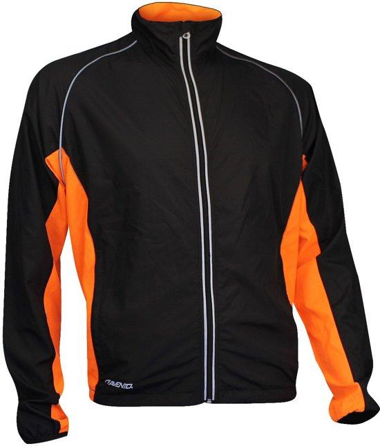 Avento Runningjack - Zwart/Oranje - M