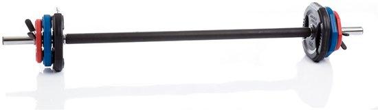 Muscle Power - Body pump set - 2,5 - 20 kg -