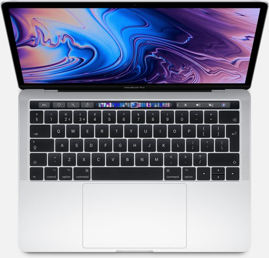 Apple MacBook Pro (2019) Touch Bar MUHQ2N/A - 13.3 inch - 128 GB / Zilver