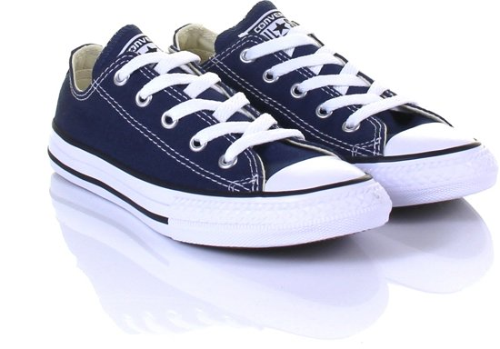 b8c72a7a309 Converse Meisjes Sneakers Chuck Taylor All Star Ox Kids - Blauw - Maat 27