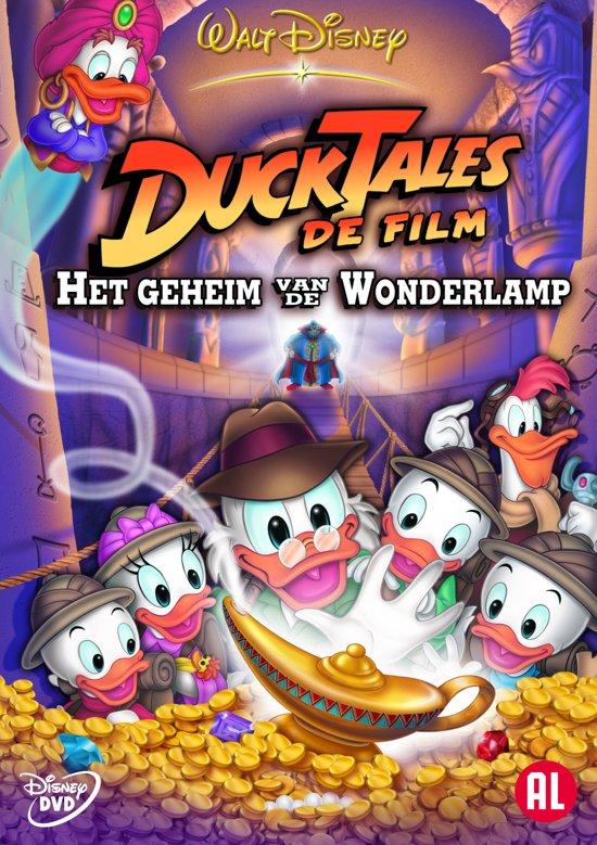 DVD cover van DuckTales De Film: Het Geheim Van De Wonderlamp