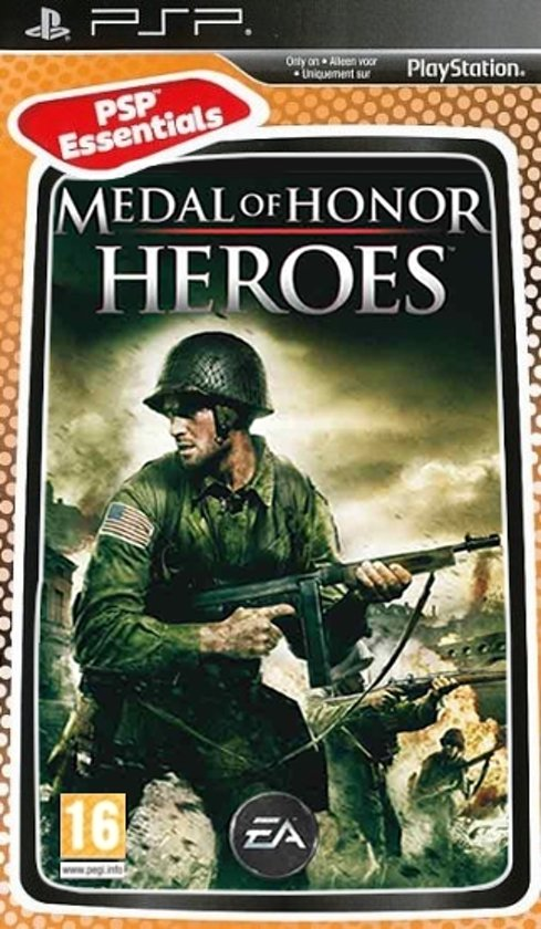PSP - Medal Of Honor: Heroes -  PSP Essentials Edition