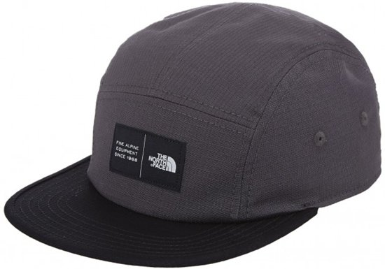 The North Face Tnf Five Panel pet grijs Maat One Size f4fb91878