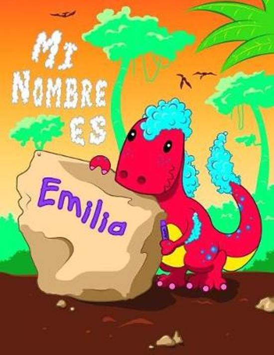 Mi Nombre es Emilia: 2 libros de trabajo en 1! Nombre personalizado y libro de seguimiento de letras dise�ado para ni�os en preescolar y ja